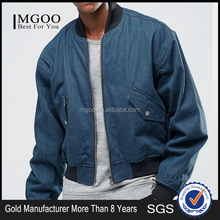 MGOO 100 Cotton Oversized Denim Bomber Jackets Vintage Cool Washed Jackets Long Sleeves