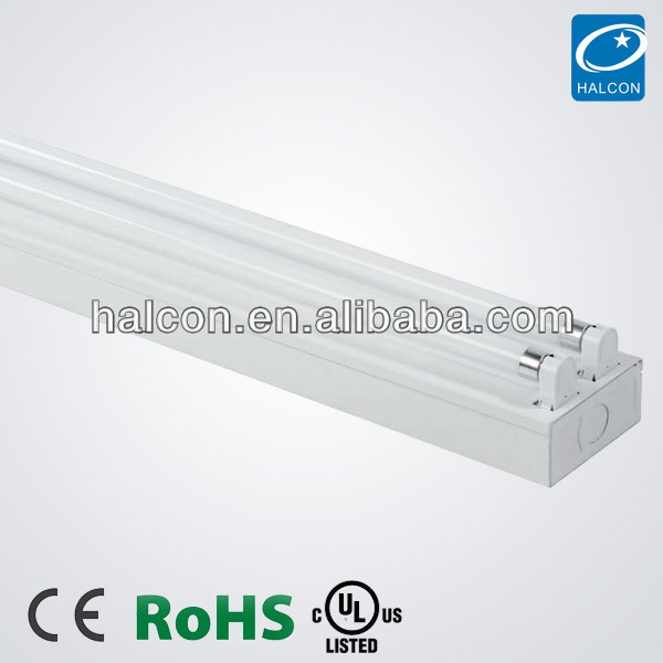 T5 T8 LED tube LED strip batten type light fittings T5 fluorescent batten fitting CE UL CUL
