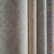 Wholesale 3d vinyl PVC 1.06m wide wallpaper European modern Style Damask for bedroom living room wall from China supplier