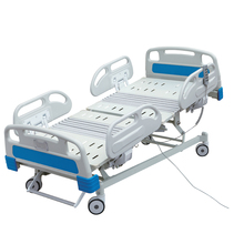 Remote Control Seven Functions Patient Bed Adjustable Electric Hospital Patient Bed