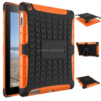 Mobile accessories anti-shock TPU+PC Hybrid Combo Case /cover with Stand for ipad 4 3 2 robot case paypal accept