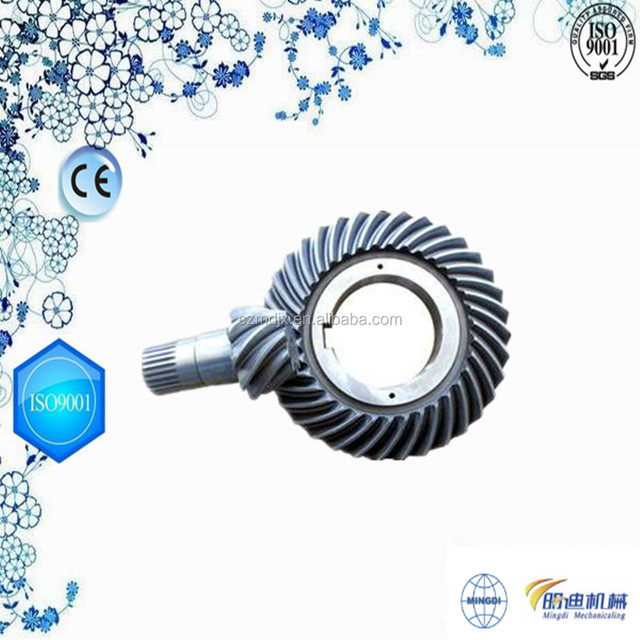 Agriculture Machinery Spare Parts MTZ cast iron Crown Wheel and Pinion Gear/CWP