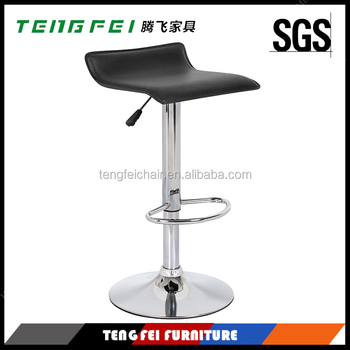 Certificated Bar chair with SGS 330hight gas lift 385mm chroming base and variety of color for you to choose!