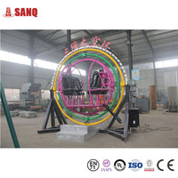 Amusement Rides Human Gyroscope Space Ball For Sale