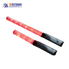 Plastic police security led warning light flashlight torch led strobe baton traffic light with magnet