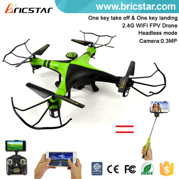 APP control 2.4G fpv quadcopter drone with HD 720P camera