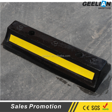 hot sale type Long reflective car parking wheel stopper