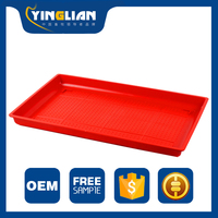 Poultry farming equipment plastic wholesale chicken feed tray