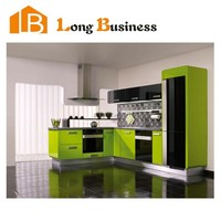 LB-JL1134 Factory price modular kitchen cabinets , modern designs economic modular kitchen