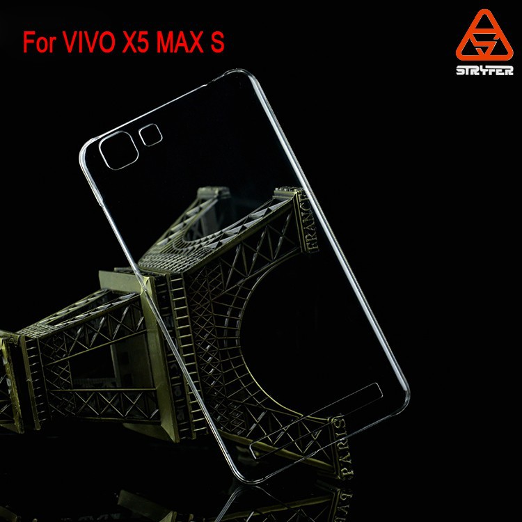 ECO PC clear mobile phone case wholesale best price supplier For VIVO X5 MAX S PC case bulk product sell