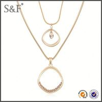 Crystal Fashion New Design swarna mahal jewellers necklace