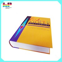 Custom cheap wholesale hardcover English dictionary printing companies in china