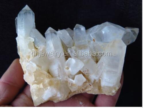 new arrivals100%Natural clear quartz crystal cluster for home decoration