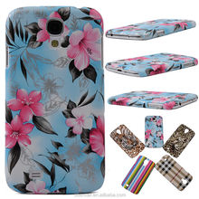 For Samsung Galaxy S4 i9500 Newest Luxury Color Printing Hard Back Case Cover