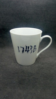 Blank white color porcelain ceramic mug wholesaler from China factory supplier