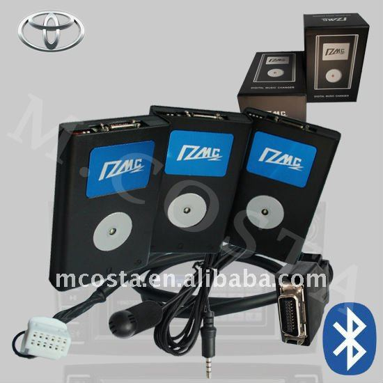 USB Interface/Aux Interface with Bluetooth for BMW/V.W/Toyota