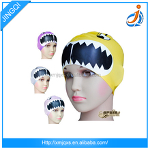 adult funny ear protection silicone swim cap