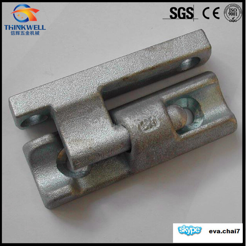 High Quality Forged Steel Vehicles Parts Tail Board Hinge and Gudgeon Pin