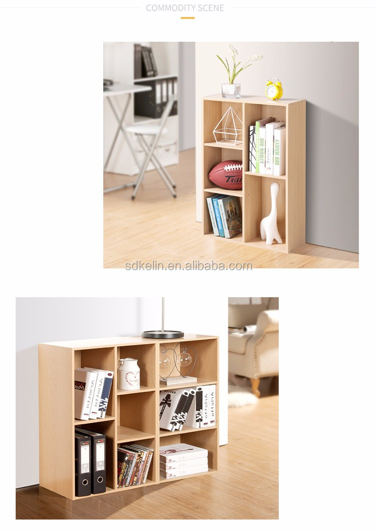 Simple design particle board storage cabinet