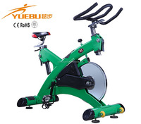 Commercial Ion Fitness Cardio Master Spin Bike of green