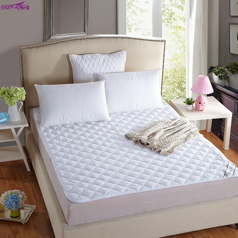 Hot sale hotel mattress quilted dust protector microfiber fitted mattress topper reusable bed pad - Jozy Mattress | Jozy.net