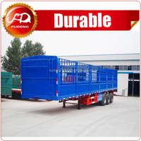 3 Axles 50 Tons Livestock Poultry