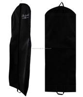 Hanging garment bag wedding dress cover clothes travel large zipper storage bag for gown birdal dress