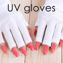 Nail care uv gloves, skin care nail art gloves for protection