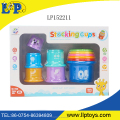educational stacking cup toy magic flying cup for kid