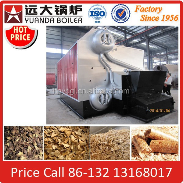 China Double Drum Water Tube Bagasse Fired Steam Boiler, Bagasse Boiler