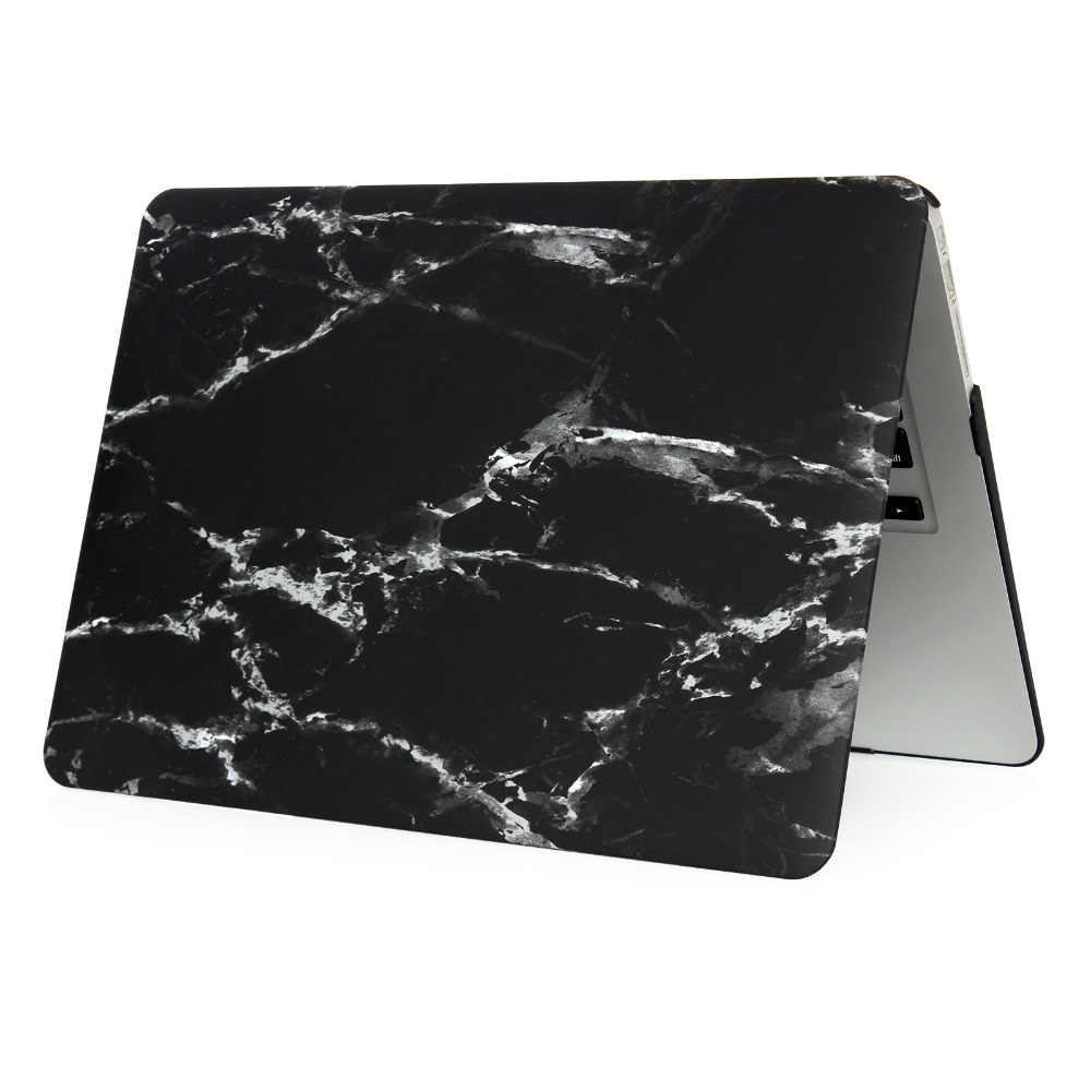 bluk wholesale PC hard case marble textured case for macbook a1342 print laptop case