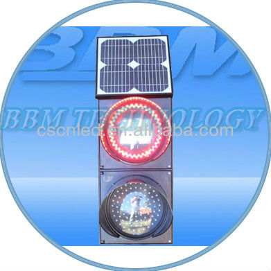 Novelty Solar 12V led traffic lights
