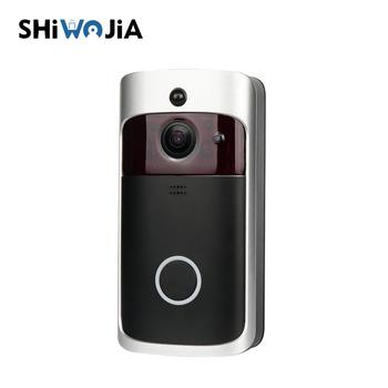 HD 720P Smart Home Low Power Consumption PIR Sensor Smart Wifi Video Doorbell