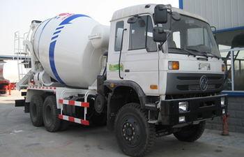 Dongfeng 6x4 9cbm concrete mixer truck for sale