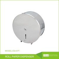 High quality Metal Material Wall Mounted Roll Paper Dispenser, Stainless steel hand towel paper dispenser