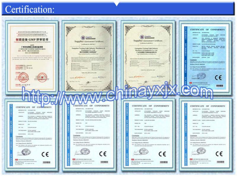 Yx 5-2000l cosméticos materail cru pomada que faz a máquina
