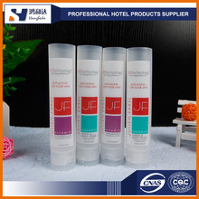 Plastic packaging tube and summer body nature lotion