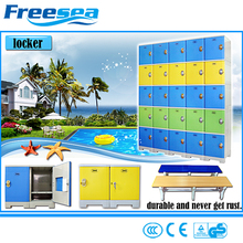 China locker supplier abs plastic used gym lockers with cheap price
