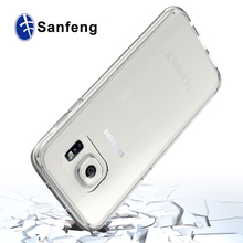 For S7 Edge Clear Case,Shockproof Scratchproof Hybrid Clear TPU Cell Phone Cover Case for Samsung Galaxy S7 Edge G9350