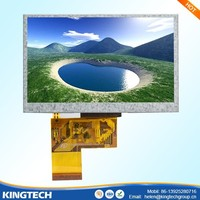 4.3 inch capacitive touch screen