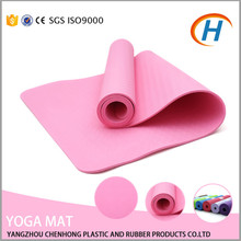 High Quality 6mm Rounded Corners Rolled Yoga Mat Supplier