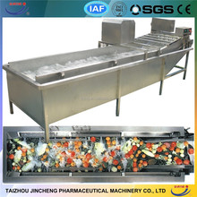 popular CE Approved vegetable and fruit washing machine