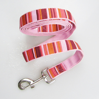 1 inch hot sale customized nylon pet Dog leash