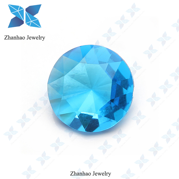 High Quality Cutting BA316 Blue 0.8mm-18mm Crystal Glass Diamond Stone