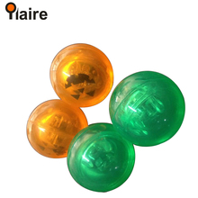 Wholesale new desige 2D or 3D led flashing bouncing ball with multi-color light