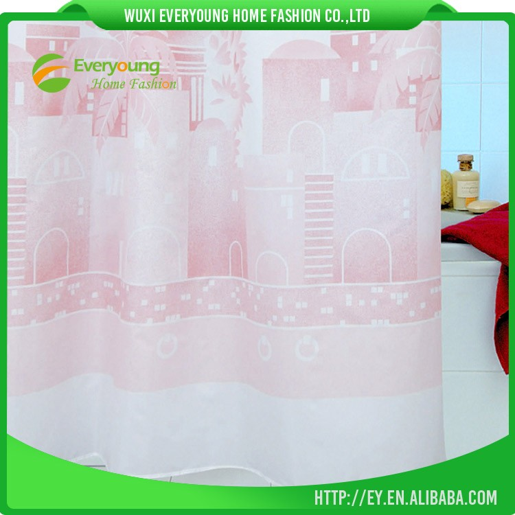 Chinese Factory Door Window Production Sheer Shower Curtain