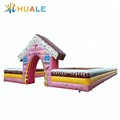 inflatable soccer arena/inflatable football court playground inflatable fence wall