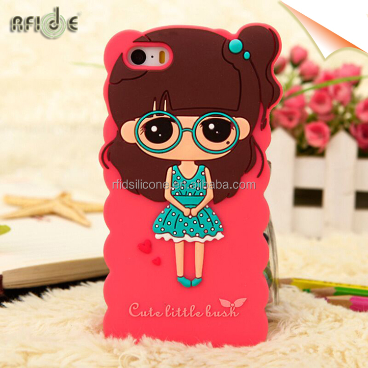 Colorful soft gel silicone t mobile case