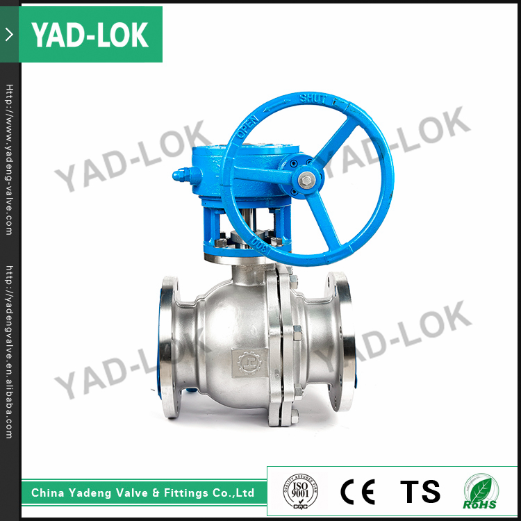 YAD-LOK General API ASME Standard 2 Piece Stainless Steel Top Entry Ball Valve