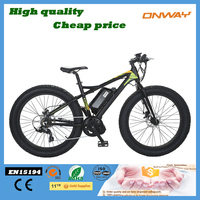 Hummer strong fat trie electric mountain bike with center motor